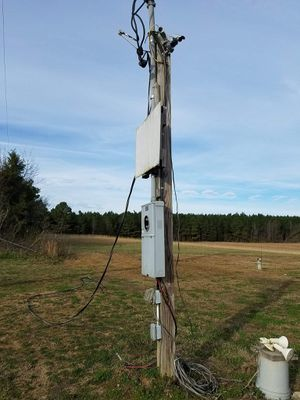 Temp.elect. pole 13+ feet for Sale in Apison, TN