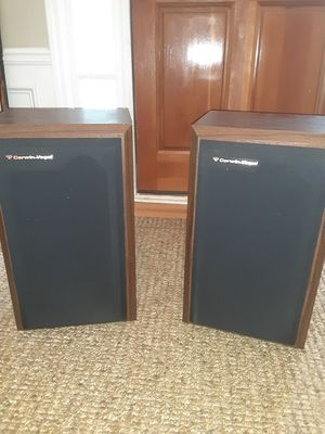 CERWIN VEGA AT8 SPEAKER PAIR plus one AUDIO PRO ACE A4-14 for Sale in Alpharetta, GA