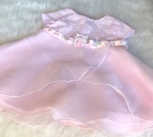 Youngland Pink Baby Dress w/ Diaper Cover *6-9 Months for Sale in Gresham, OR