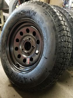 5 lug trailer tire wheel assembly for Sale in Irwindale,  CA