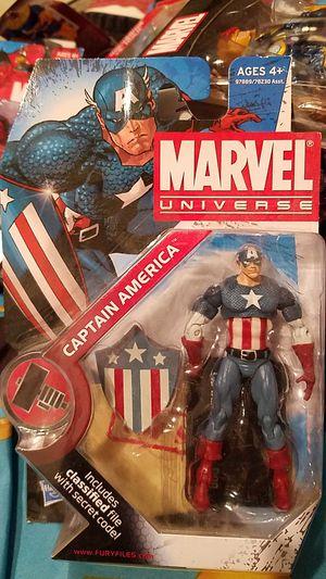 Marvel universe captain america for Sale in Concord, CA