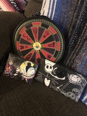 Nightmare befor Christmas purse and wallets for Sale in Spanaway, WA
