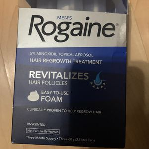 Rogaine, Hair Regrowth Treatment, Foam, Mens for Sale in Brooklyn, NY