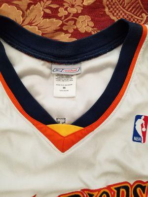 NBA Golden State Warriors Antawn Jamison Jersey Size 56 Reebok for Sale in Austin, TX