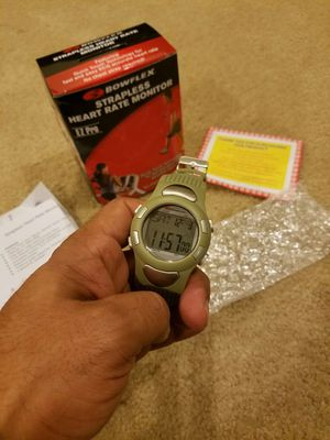 Bowflex Active Watch with strapless Heart Rate Monitor- BRAND NEW SEALED IN BOX UNOPENED UNUSED- KHAKI COLOR - WITH LED BACKLIGHT for Sale in Germantown, MD