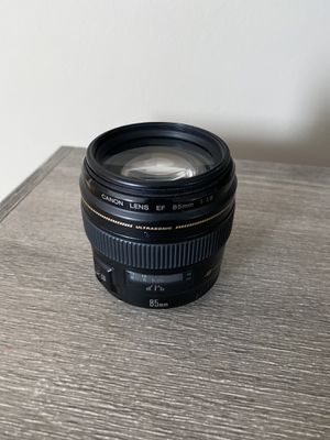 Canon 85mm f/1.8 lens (Perfect Condition) for Sale in Los Angeles, CA