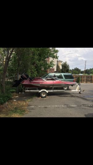 Good boat and motor needs water pump for Sale in Denver, CO
