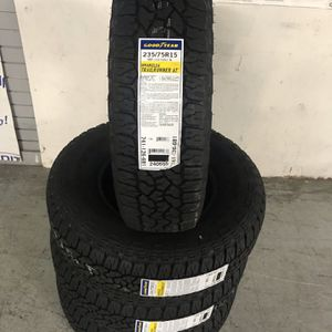 NEW SET OF FOUR: GOODYEAR TIRES 15 Inch for Sale in Fresno, CA