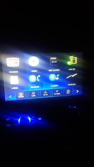 Dual in dash dvd player works great bluetooth for Sale in Everett, WA