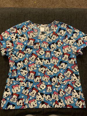 Mickey n Minnie scrub top for Sale in Whittier, CA
