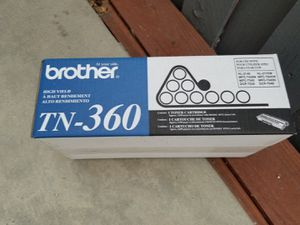 Brother TN-360 Black Toner Cartridge for Sale in Corona, CA