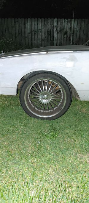 22 inch rims for Sale in Dallas, TX