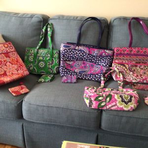 Vera Bradley Bags With Matching Accessory for Sale in Woodbridge, VA