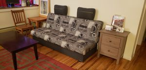 Couch, sofa, flip bed with storage for Sale in Brooklyn, NY