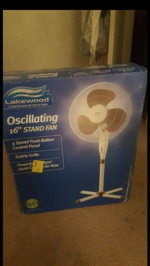 "16"" Oscillating Stand Fan for Sale in Dallas, TX"