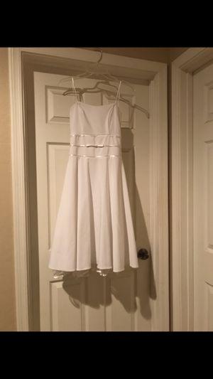 White formal dress/ prom dress for Sale in Gilbert, AZ
