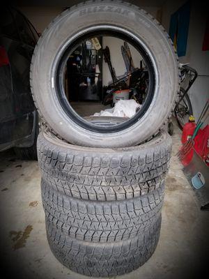 4 BLIZZAK Snow Tires (225/55R18) for Sale in Arvada, CO