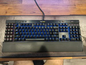 Corsair Gaming K95 RGB Mechanical Keyboard Cherry MX red Aluminum frame for Sale in Los Angeles, CA
