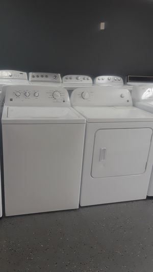 KENMORE WASHER & DRYER SET DEEP WATER WASH TRIPLE ACTION AGITATOR HE for Sale in Lawrenceville, GA