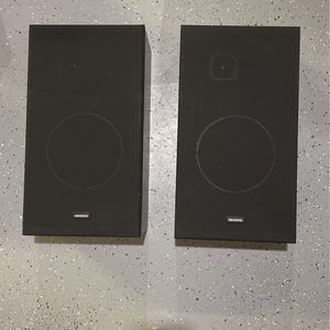 Pair of Kenwood Speakers for Sale in Naperville, IL