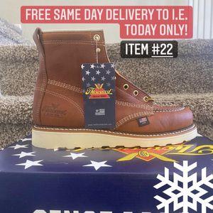 American Made Thorogood Soft Toe Work Boot/Bota De Trabajo American Thorogood Sin Casquillo for Sale in Highland, CA