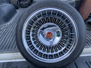 Original McLean Wheels w/ Bfg tires for Sale in Winchester, CA