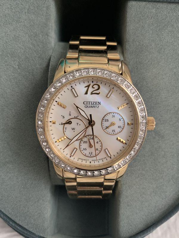 Womens Citizen Gold Watch