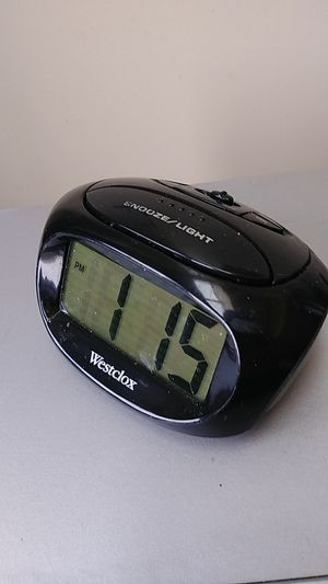 Alarm clock- battery operated for Sale in Brooklyn, NY