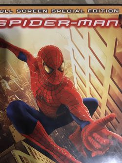 Spider-Man The Full Screen Special Edition Dvd Movie for Sale in Elma,  WA