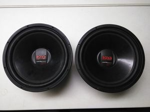 """(2) Sets of 15"""" Subwoofers ( need reconed ) for Sale in Columbus, OH"""