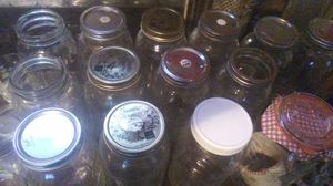 64 oz Ball Mason Jars for Sale in St. Petersburg, FL