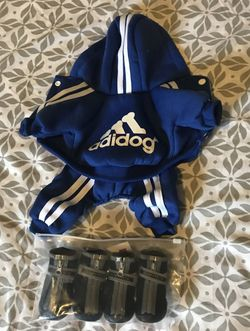 Puppy/small Dog Hooded Jumpsuit and Boots/Shoes for Sale in The Bronx,  NY