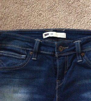 Levi jeans 👖 in size 28 for Sale in Springfield, VA