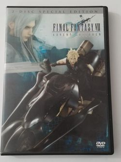Final Fantasy VII Advent Children 2-disc Special Edition DVD for Sale in Colton,  CA