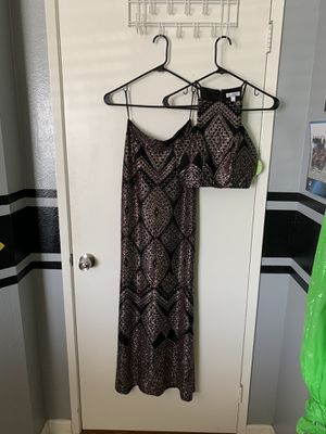 Two piece prom dress for Sale in Bloomington, CA