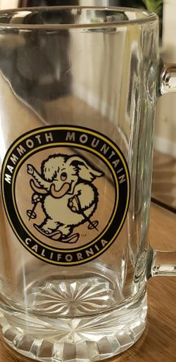 Mammoth Mountain California Souvenir Glass Mug for Sale in Spring,  TX