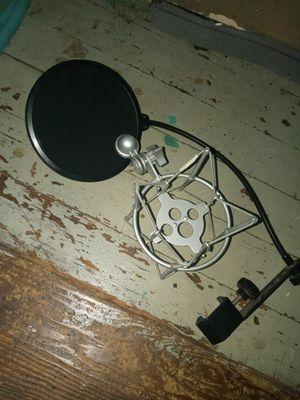 Mic shock mount N Pop Blocker for Sale in Oak Forest, IL