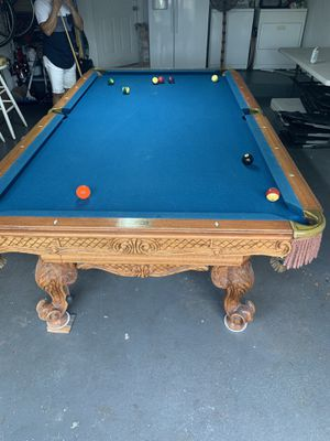 Pool table for Sale in Plantation, FL