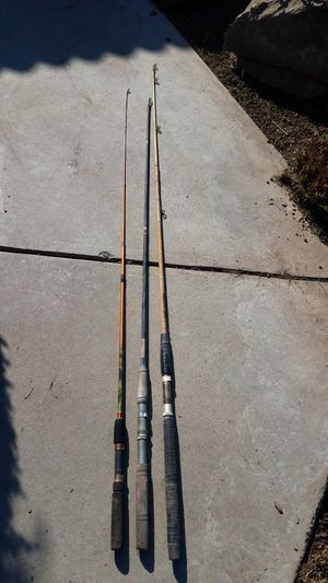 3 Fishing rods for Sale in Fresno, CA