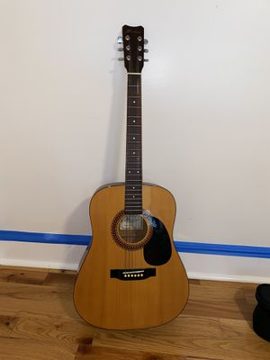 Hohner acoustic guitar and case for Sale in Marietta, GA
