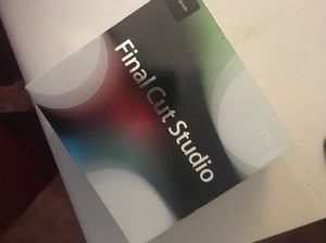 Final Cut Studio ( IMac Software Only not for Windows ) for Sale in Longview, TX