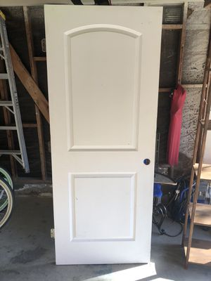 White two panel door 32x80 for Sale in Huntington Beach, CA