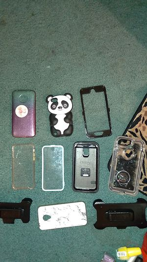 Lot of misc call phone cases for Sale in Lacon, IL