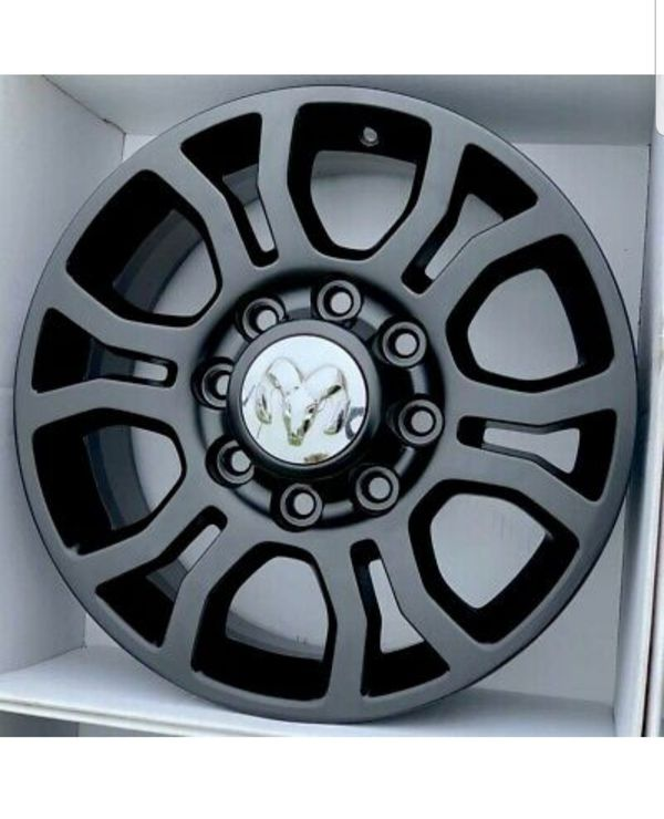 "18"" Dodge Ram 2500 3500 Black wheels rims OEM 2016 2017 2018 2019"