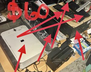 Computer, printer , monitor , keyboards and a laptop stand for Sale in Orlando, FL