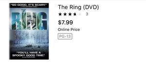 The ring movie dvd cds scary movies horror movies for Sale in Glendale, AZ