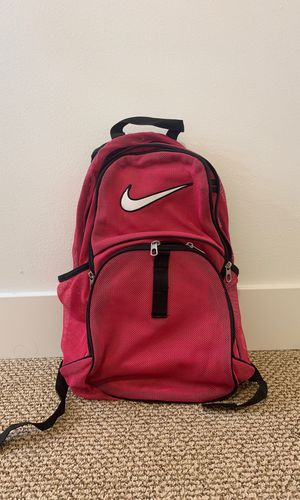 NIKE Hot Pink Mesh Backpack for Sale in Bothell, WA