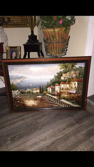 Oil painting 41x29 for Sale in West Deptford, NJ