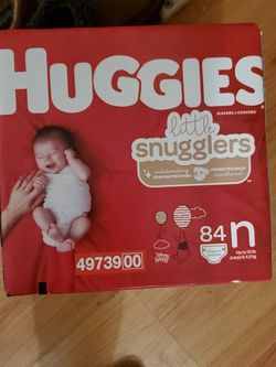 Huggies Little smugglers Diapers W Wipes for Sale in Stuart,  FL