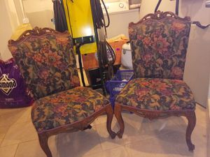 Antique, Vintage short / small chairs. for Sale in Smyrna, GA